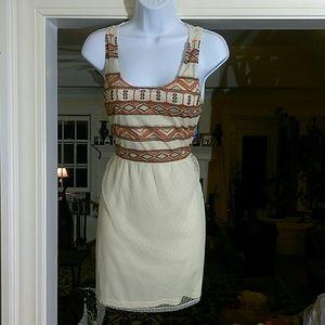 En Crem mini dress